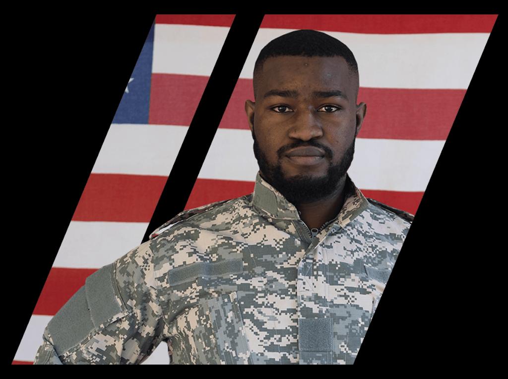 Military veteran student of Coastal Truck Driving school